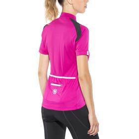Endura Hyperon Kortærmet cykeltrøje Damer pink/sort